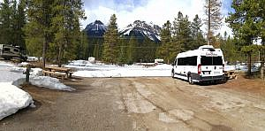 Campground Lake Louise