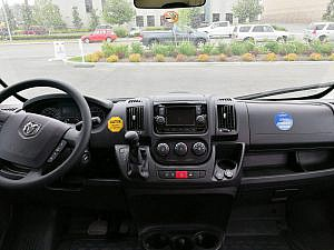 RV-interieur - Dashboard