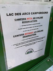 Campground-instructies